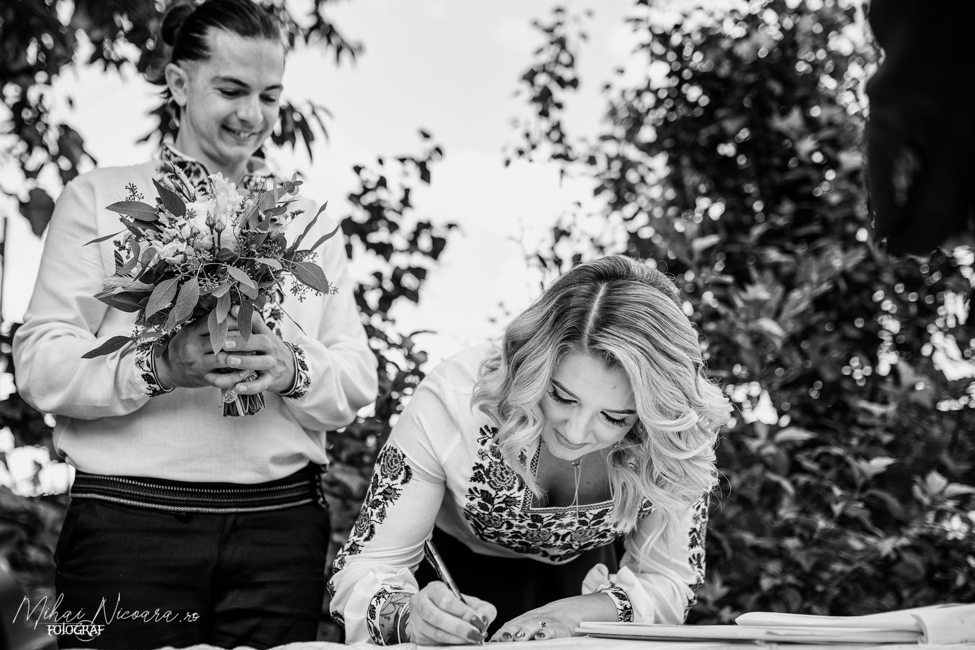 "Fotografie album ""Alina & Petru"""