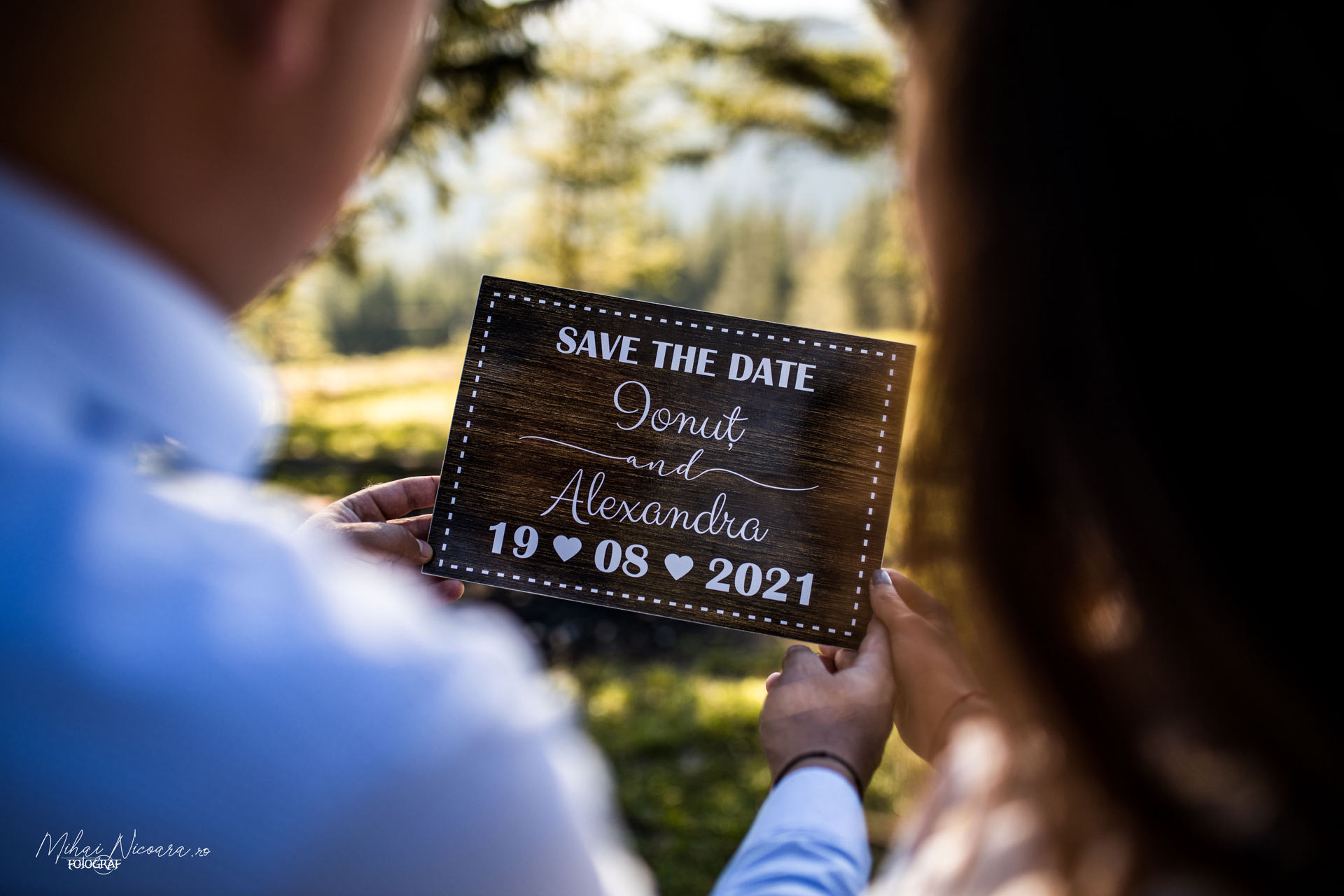 "Fotografie album ""Alexandra & Ionut - Save the Date"""